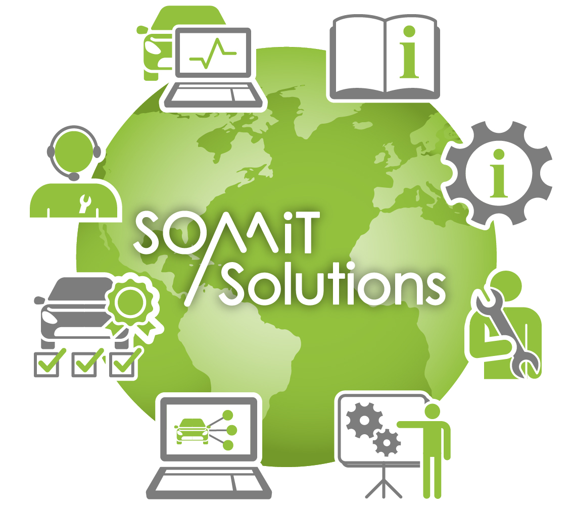 Somit Solutions Products and services icons